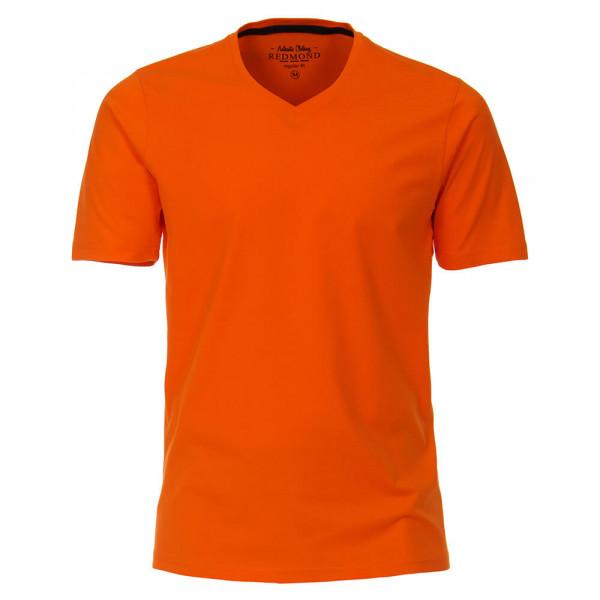 T-shirt Redmond orange en coupe classique