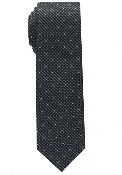 Cravate Eterna noir tacheté