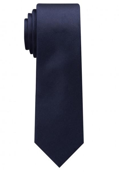 Cravate Eterna bleu foncé uni