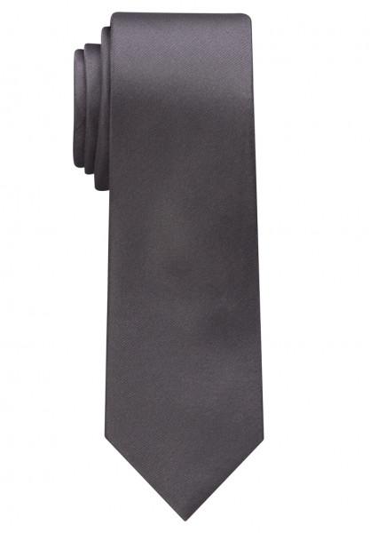 Cravate Eterna anthracite uni