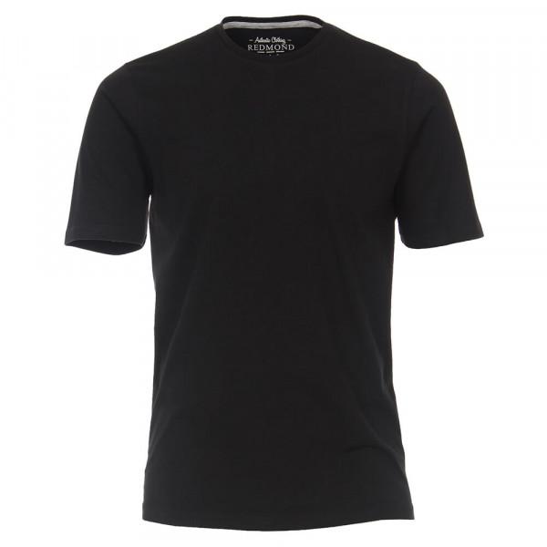T-shirt Redmond noir en coupe classique