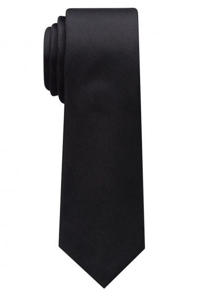 Cravate Eterna noir uni