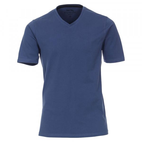 T-shirt Redmond bleu foncé en coupe classique