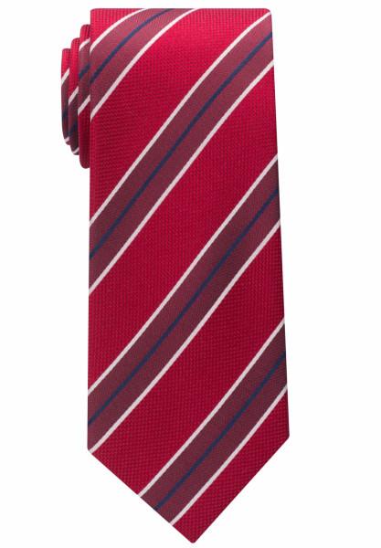 Cravate Eterna rouge rayé