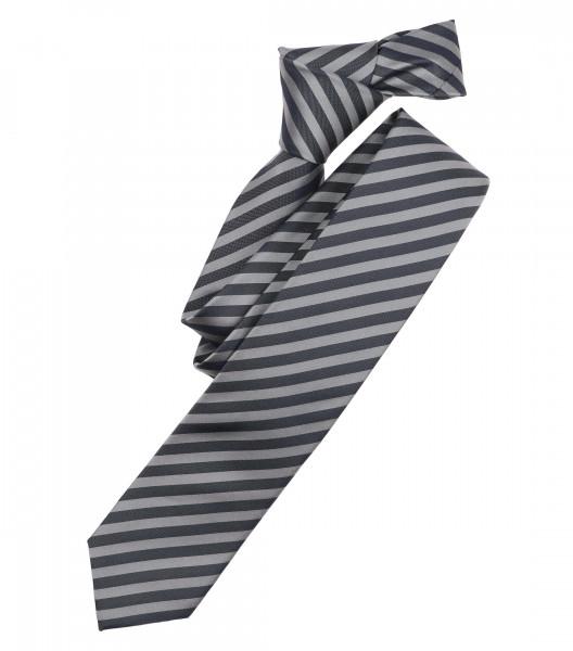 Cravate Venti gris rayé