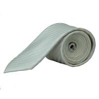 Cravate Olymp blanche rayé