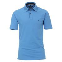 Polo CASAMODA bleu moyen en coupe classique