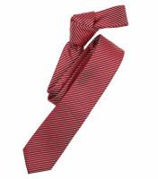 Cravate Venti rouge rayé