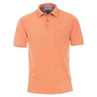 Polo Redmond orange en coupe classique