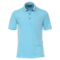 Polo CASAMODA bleu clair en coupe classique