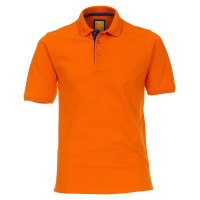Polo Redmond orange en coupe moderne