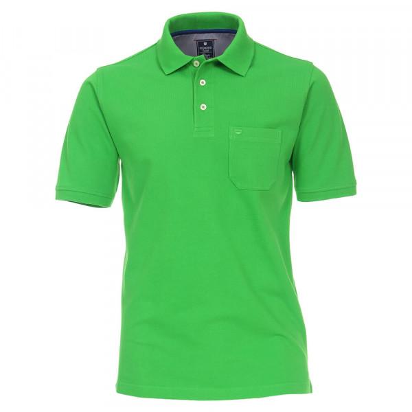 Polo Redmond vert en coupe classique