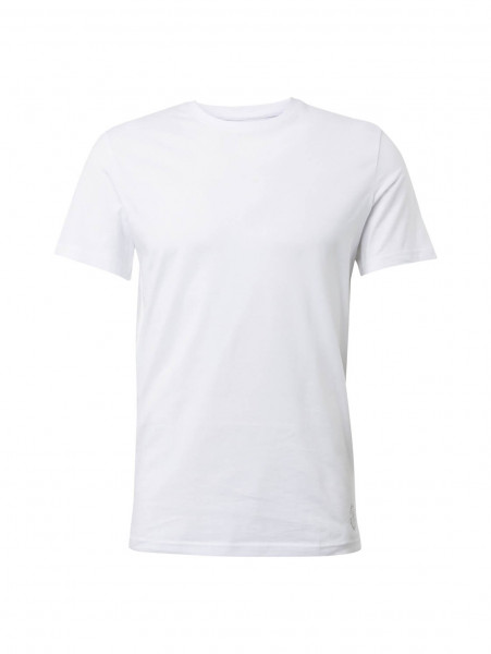 T-shirt Tom Tailor blanc en coupe classique
