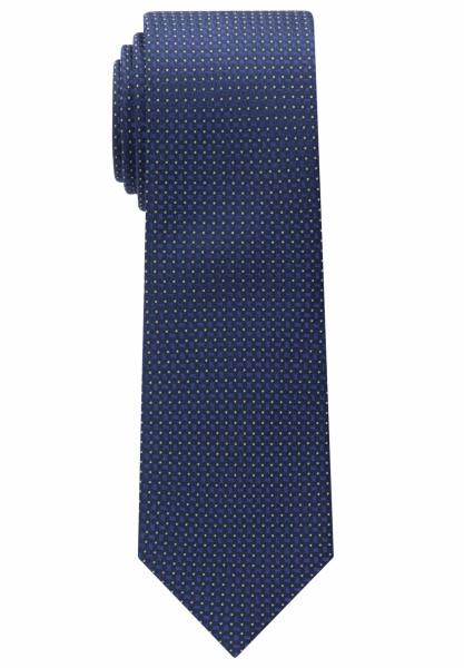 Cravate Eterna bleu foncé structuré
