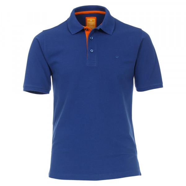 Polo Redmond bleu moyen en coupe moderne