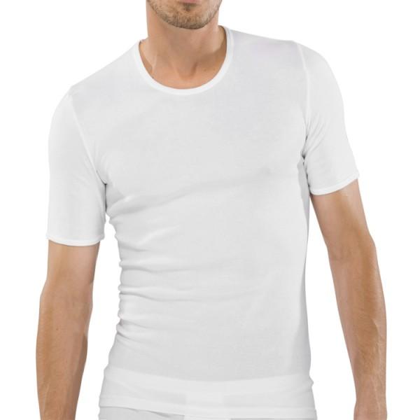 """Schiesser """"ORIGINAL FEINRIPP"""" T-Shirt blanc"""