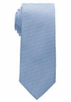 Cravate Eterna bleu clair à motifs