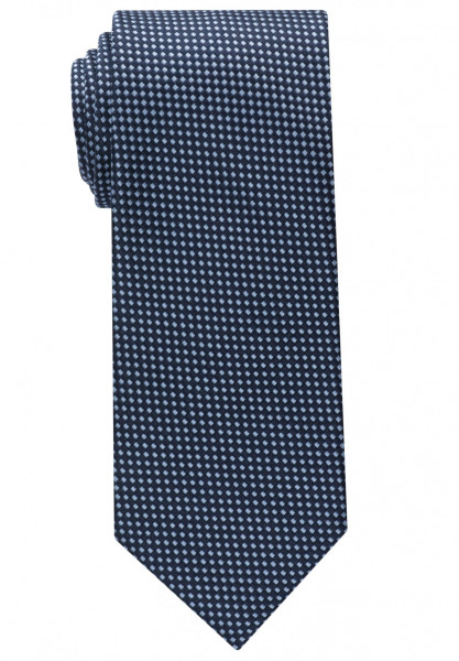 Cravate Eterna bleu moyen structuré