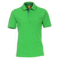 Polo Redmond vert en coupe moderne