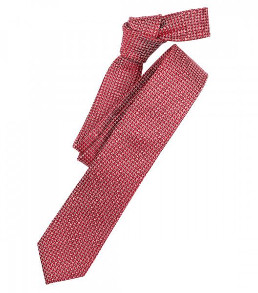Cravate Venti rouge à motifs