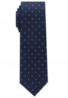 Cravate Eterna bleu foncé tacheté