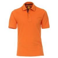 Polo Redmond orange en coupe moderne
