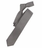 Cravate Venti marron clair à motifs