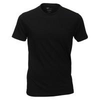 Venti T-shirt noir col rond Double Pack