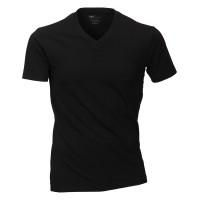 Venti T-shirt noir Col V Double Pack