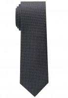Cravate Eterna noir structuré