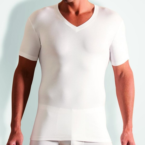 "Novila ""STRETCH COTTON"" T-shirt blanc"