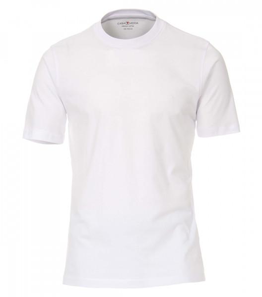 T-shirt CASAMODA blanc en coupe classique