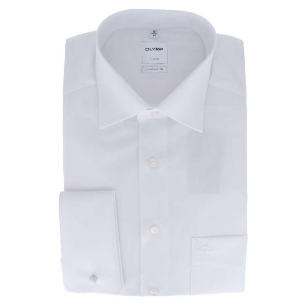 """Chemise Olymp """"LUXOR COMFORT FIT"""" blance, col new kent, coupe classique"""