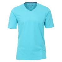 T-shirt Redmond turquoise en coupe classique