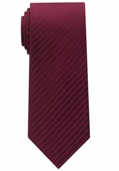 Cravate Eterna rouge foncé rayé