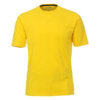 T-shirt Redmond jaune en coupe classique