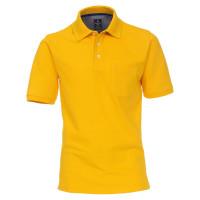 Polo Redmond jaune en coupe classique