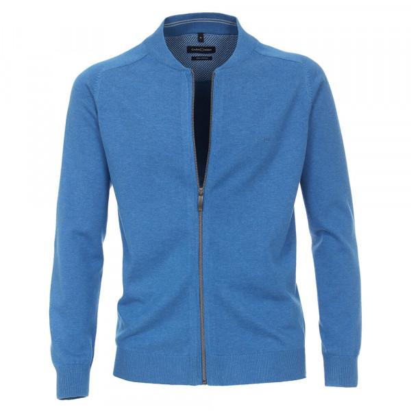 Cardigan CASAMODA bleu moyen en coupe classique