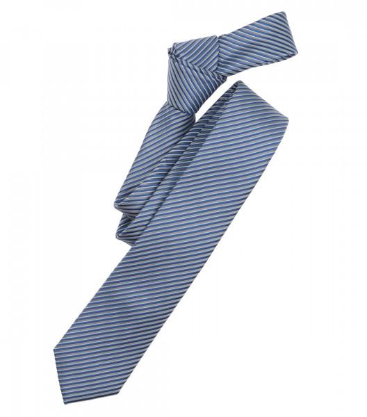 Cravate Venti bleu clair rayé