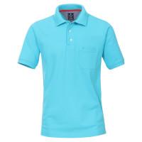 Polo Redmond bleu clair en coupe classique