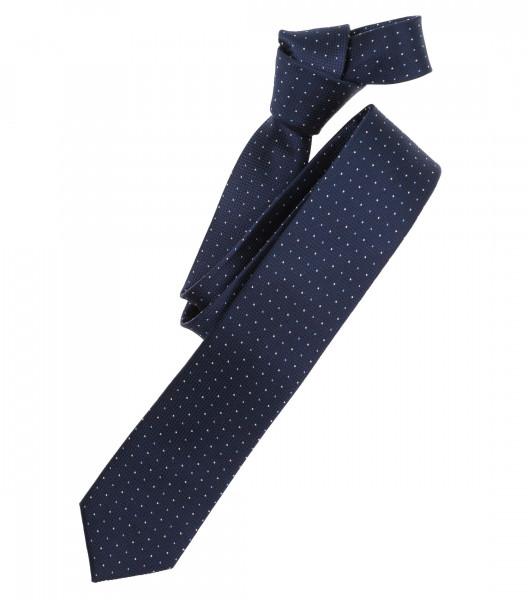 Cravate Venti bleu foncé tacheté