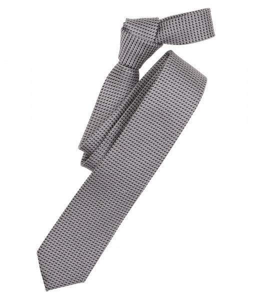 Cravate Venti anthracite à motifs