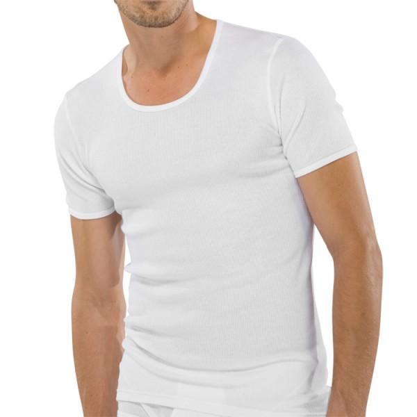 "Schiesser ""ORIGINAL DOPPELRIPP"" T-Shirt blanc"