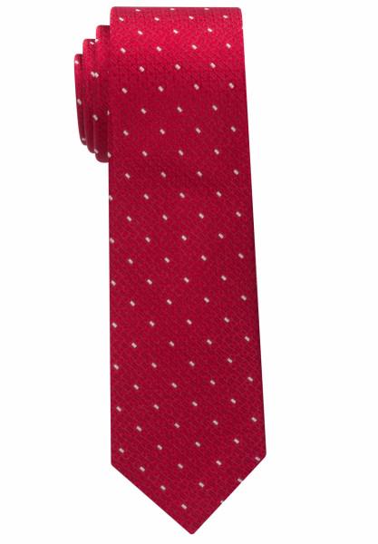 Cravate Eterna rouge tacheté