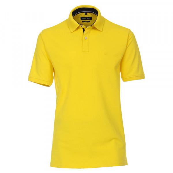Polo CASAMODA jaune en coupe classique