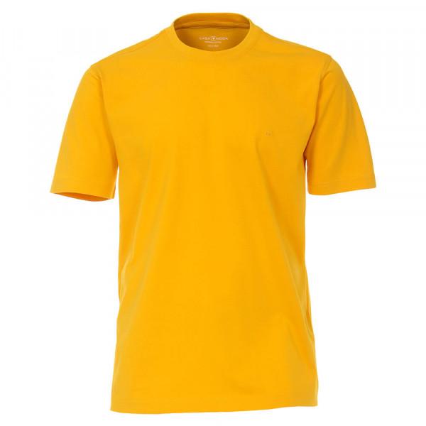 T-shirt CASAMODA jaune en coupe classique