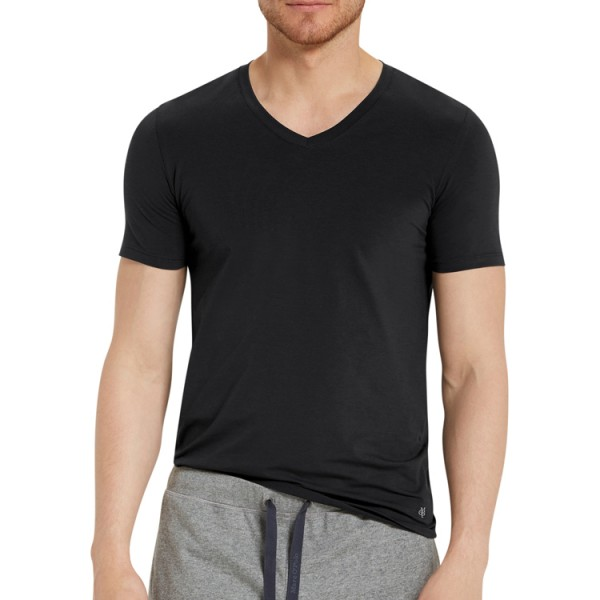 "Marc O'Polo ""Cotton Stretch"" T-Shirt noir"