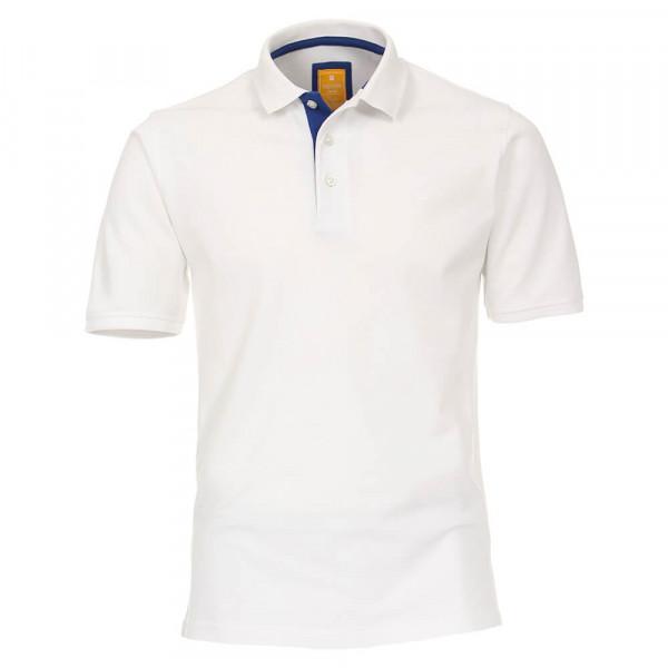 Polo Redmond blanc en coupe moderne