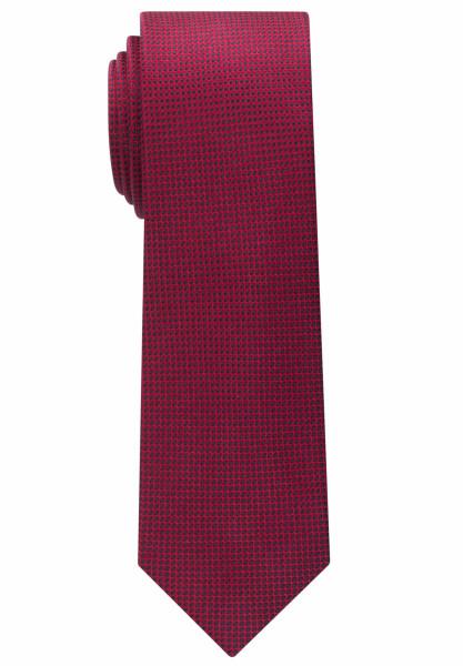 Cravate Eterna rouge structuré