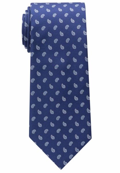 Cravate Eterna bleu moyen à motifs